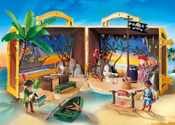 Playmobil 70150 - Mitnehm-Pirateninsel (Pirates)