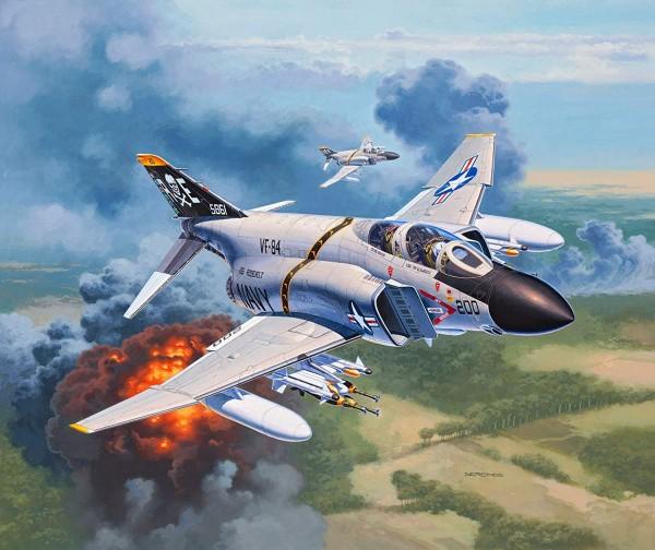 Revell 03941 - F-4J Phantom II - Flugzeug Modell