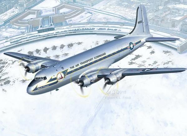 Revell 03910 - C-54D Skymaster Rosinenbomber - Berliner Luftbrücke (03910)