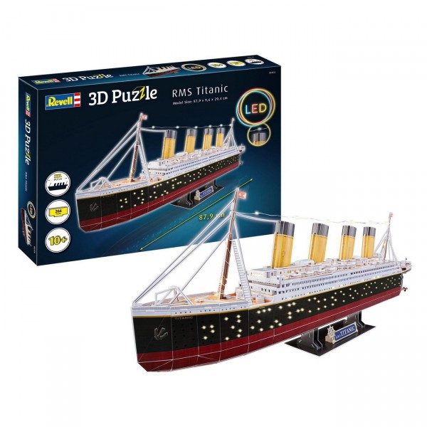 Revell 00154 - RMS Titanic - LED Edition 3D Puzzle