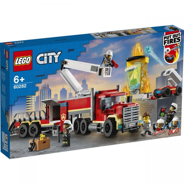 LEGO City 60282 - Mobile Feuerwehreinsatzzentrale