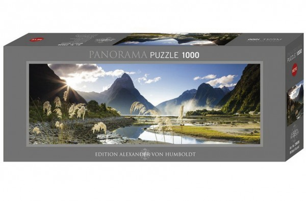 HEYE Puzzle - Milford Sound Panorama 1000 Teile