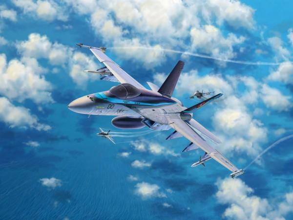 Revell 03864 - F/A-18E Super Hornet Top Gun