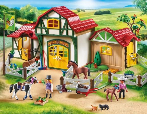 Playmobil 6926 - Großer Reiterhof (Country)