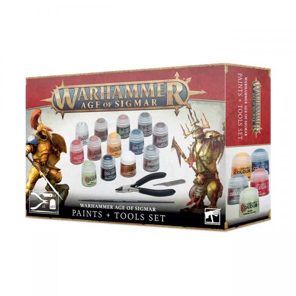 Warhammer Age of Sigmar: Farben + Werkzeuge (80-17)