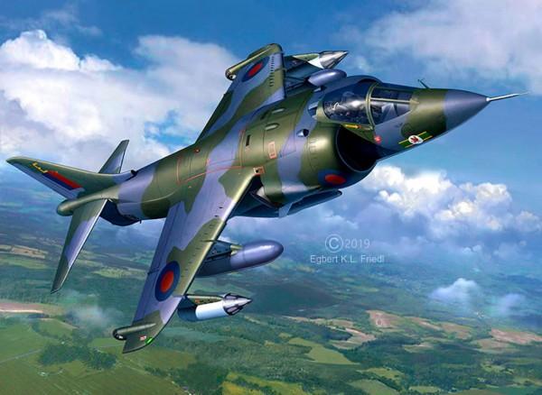 Revell 05690 - BAe Harrier GR 1 - Senkrechtstarter Modellset