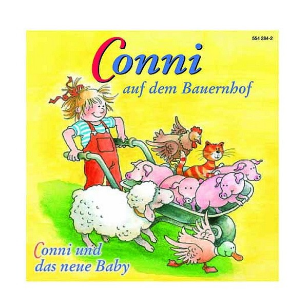 CD Conni auf dem Bauernhof/ und das neue Baby