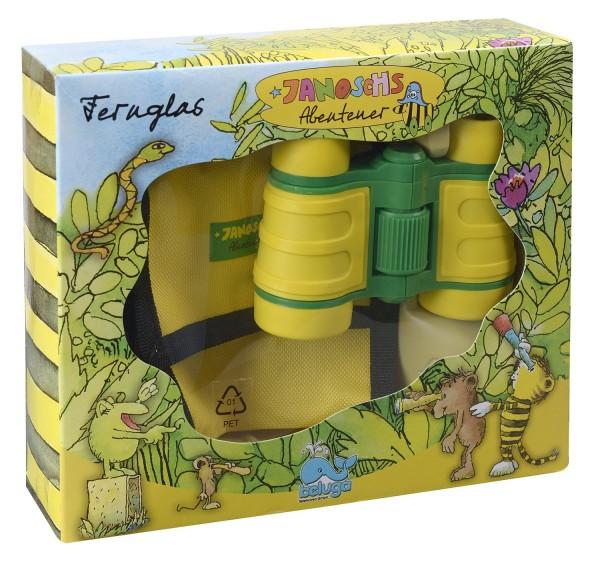 Janosch Abenteuer Tigers Fernglas gelb/grün (Beluga 65063)