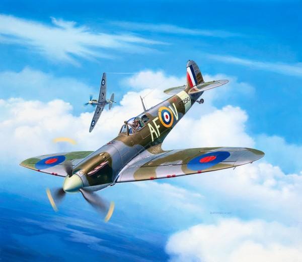 Revell 03953 - Spitfire Mk. IIa - Flugzeug Modell