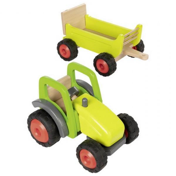 Traktor mit Anhänger (goki 55886)