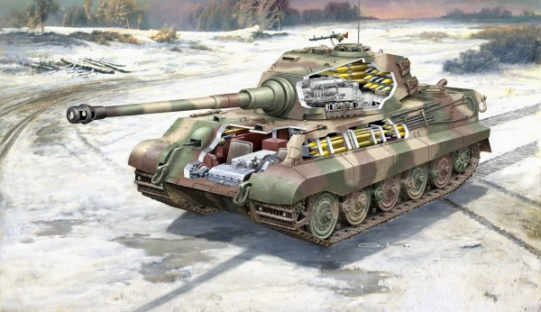 Revell 03275 - Tiger II Ausf B - Platinum Edition Modell