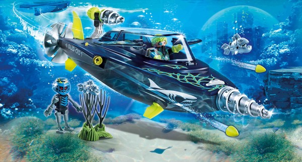 Playmobil 70005 - Team S.H.A.R.K. Drill Destroyer (Top Agents)