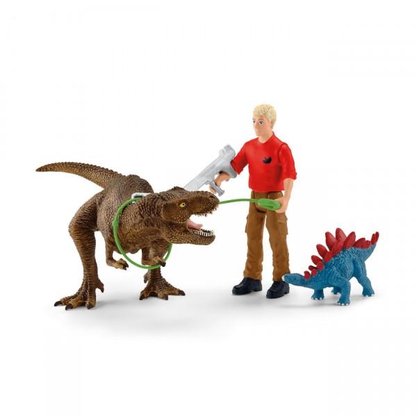 Tyrannosaurus Rex Angriff - Schleich (41465) Dinosaurier
