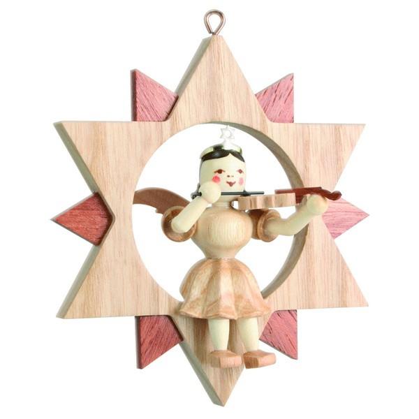 Engel mit Violine im Stern