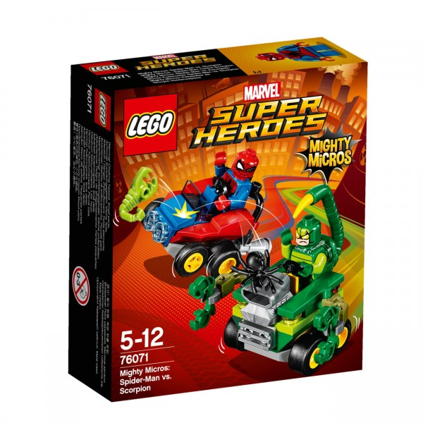 LEGO Marvel Super Heroes 76071 - Mighty Micros: Spider-Man vs. Scorpion