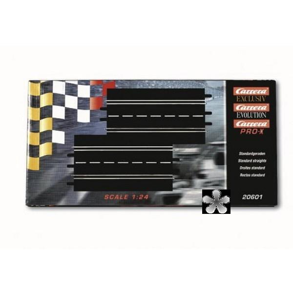 Carrera Standardgeraden 20601 - Digital 124 132 Evolution