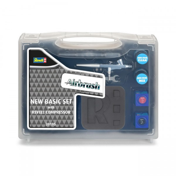 Revell 39195 - Airbrush-Basic Set mit Kompressor
