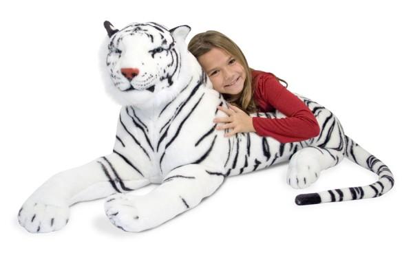 Plüsch Weißer Tiger