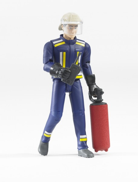 bworld 60100 - Feuerwehrmann mit Zubehör