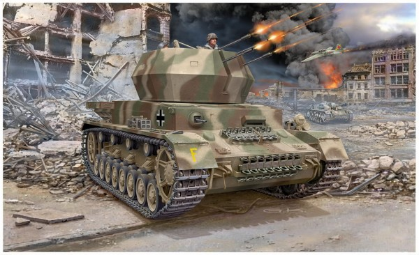 Revell 03267 - Flakpanzer IV Wirbelwind - Modell