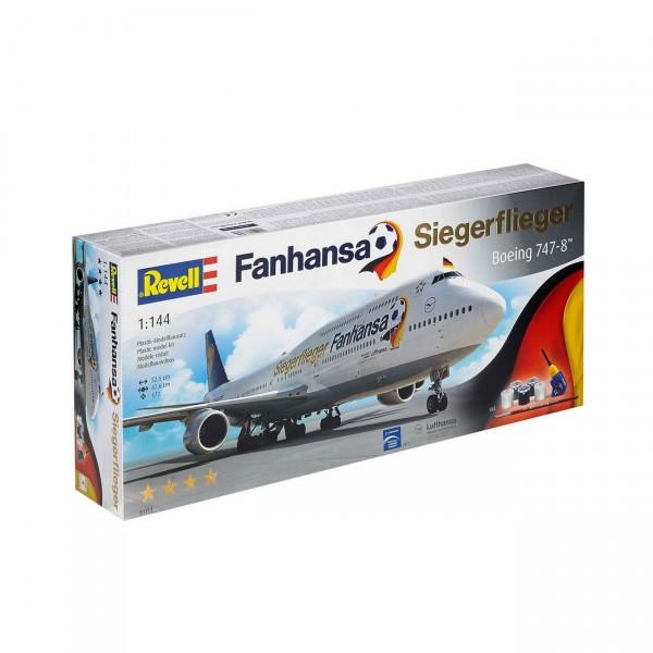 Revell 01111 - Fanhansa - Siegerflieger Boeing 747-8