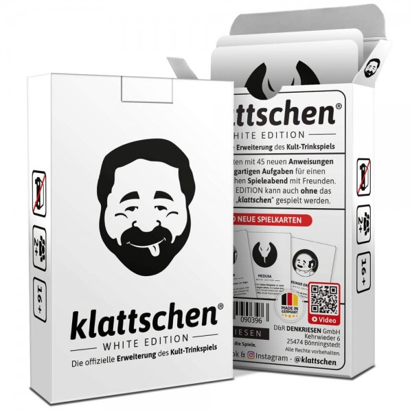 klattschen - WHITE EDITION - Erweiterung (DENKRIESEN)