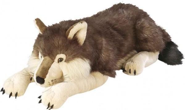 Wolf Plüschtier groß 75 cm