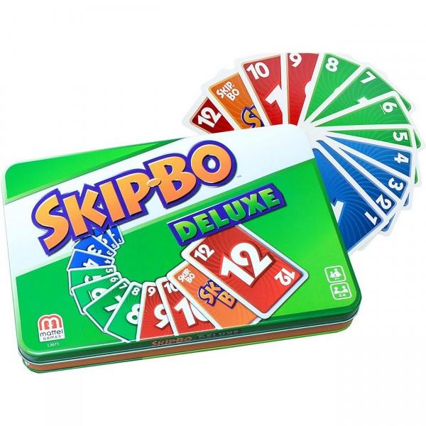 Skip-Bo Deluxe in Metalldose (L3671)