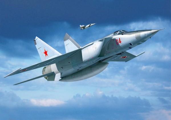 Revell 03878 - MiG-25 RBT FOXBAT B