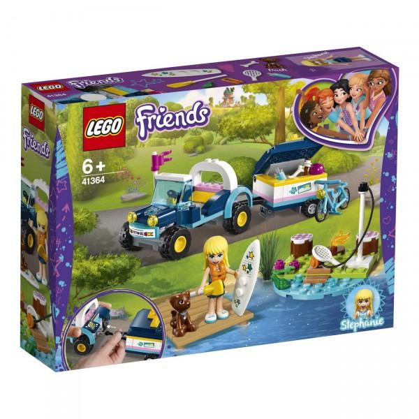 LEGO Friends 41364 - Stephanies Cabrio mit Anhänger