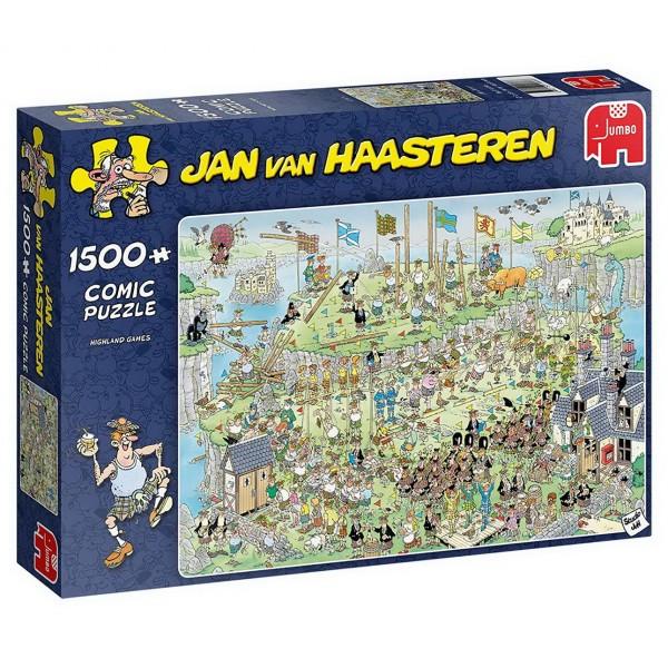 Puzzle - Highland Games (van Haasteren) - 1500 Teile