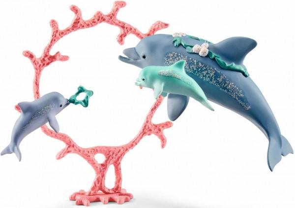 Delfin Mama mit Babies - Schleich (41463) Bayala