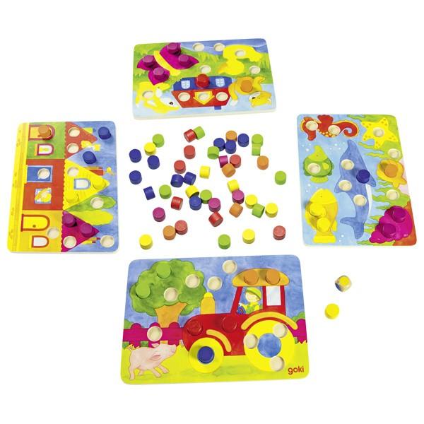 goki Farbwürfelspiel (56705)