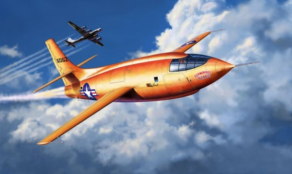 Revell 03888 - Bell X-1 Supersonic Aircraft - Flugzeug Modell
