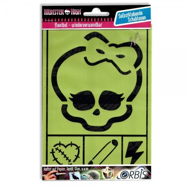 Orbis Schablone Monster High Skulette 30487