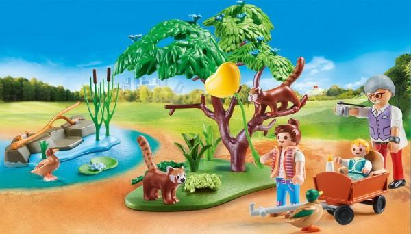 Playmobil 70344 - Kleine Pandas im Freigehege - Family Fun