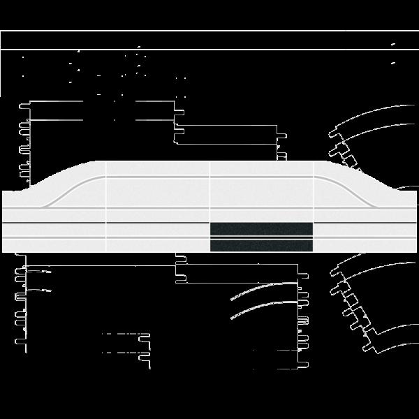 Carrera Digital - Pit Stop Schiene - Verlängerung (30341)