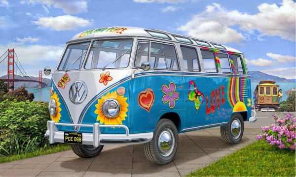 Revell 07050 - VW T1 Samba Bus Flower Power