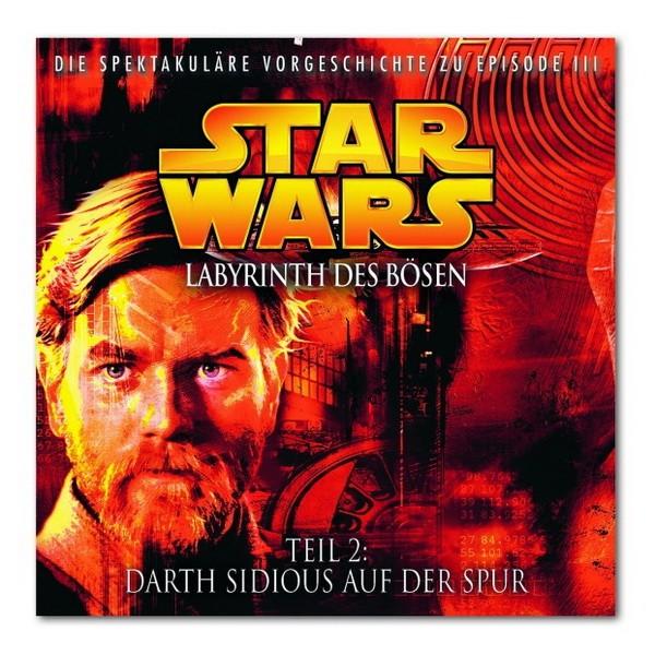 CD Star Wars Labyrinth des Bösen Darth Sidious Spur (02)