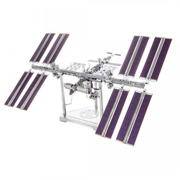 Metal Earth - ICONX - ISS International Space Station - Modell