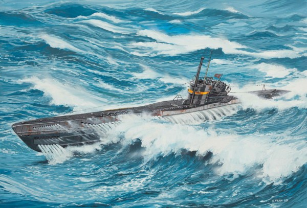 Revell 05100 - U-Boot TYPE VII C/41 Atlantik