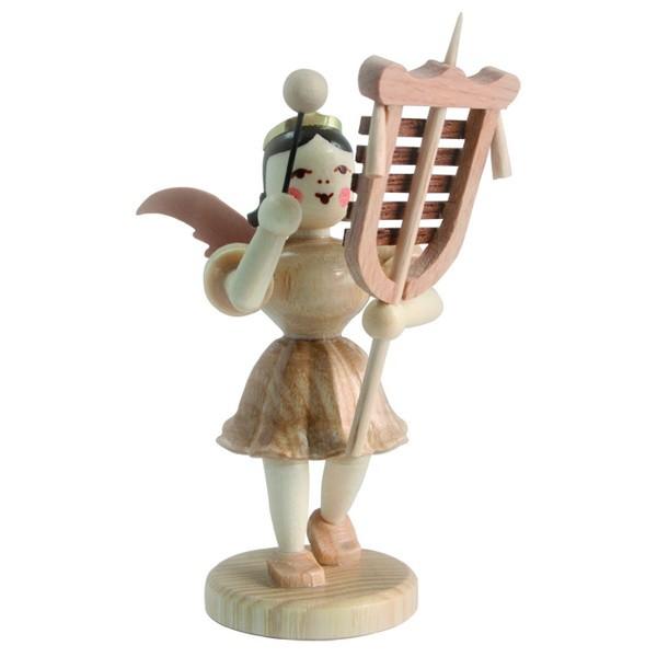 Blank Kurzrock-Engel mit Schellenbaum