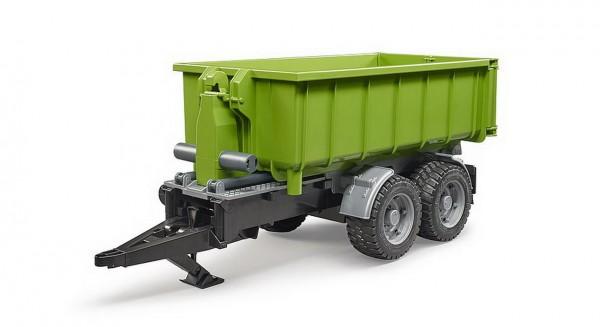 BRUDER 02035 - Hakenlift Anhänger für Traktoren