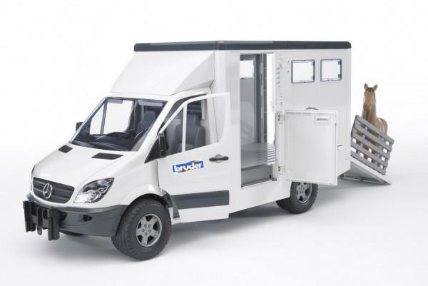 BRUDER 02533 - MB Sprinter Tiertransporter