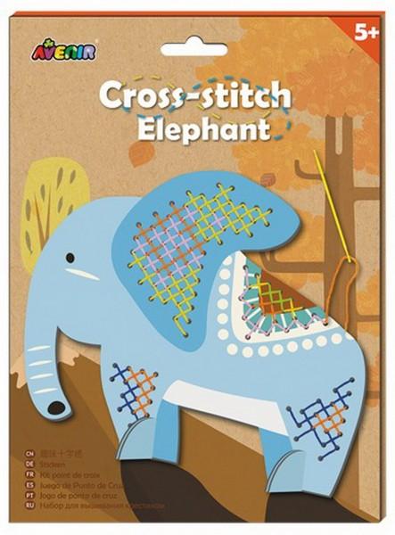 Kinder Stickset Elefant (Avenir)