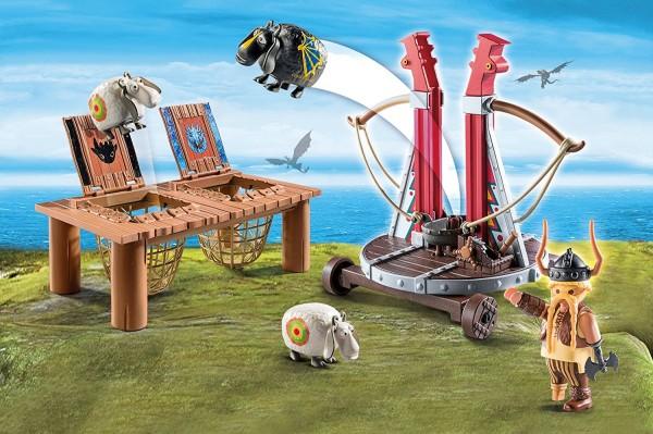 Playmobil 9461 - Grobian mit Schafschleuder