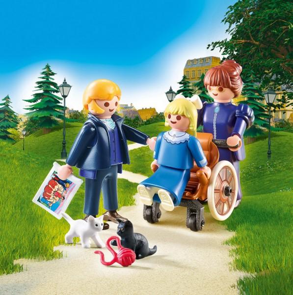 Playmobil 70258 - Clara mit Vater und Fräulein Rottenmeier - Heidi