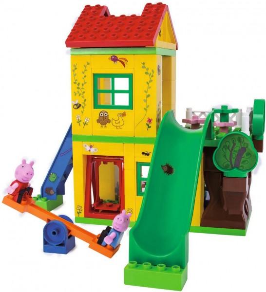 Play BIG Bloxx - Peppa Pig Spiel Haus (Simba Dickie)