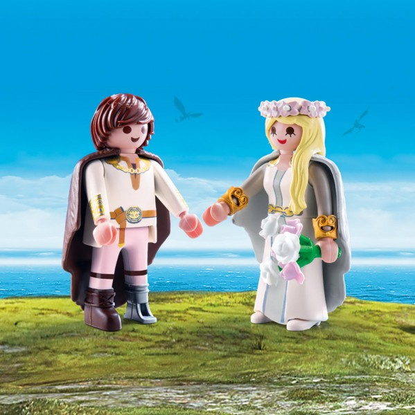 Playmobil 70045 - Astrid und Hicks Special Spielset (Dragons)