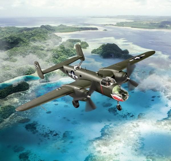 Revell 03650 - B-25 Mitchell - easy-click Flugzeug Modell